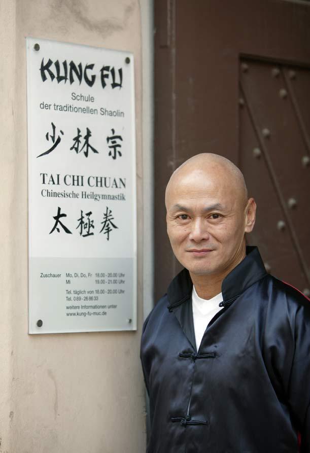 Gordon Liu in der Münchner Kung Fu Schule