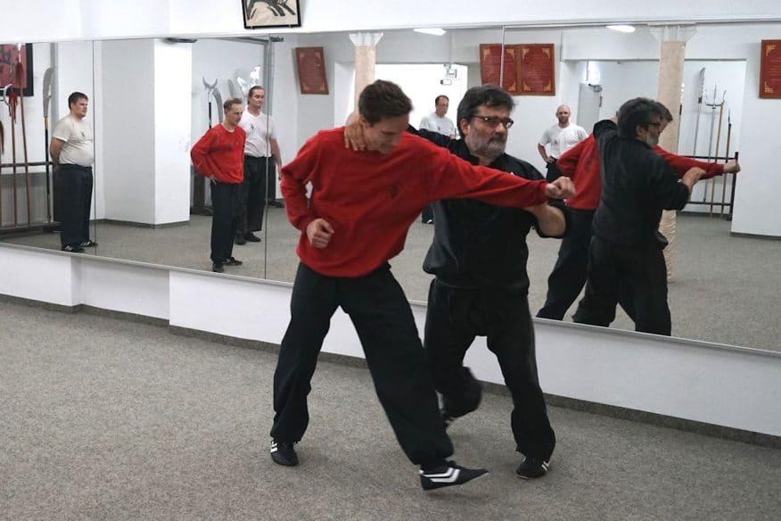 Sifu Alan Baklayan beim Kung Fu Training