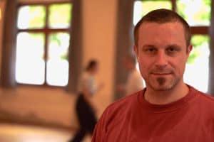 Dominik, Trainer der Münchner Kung Fu Schule