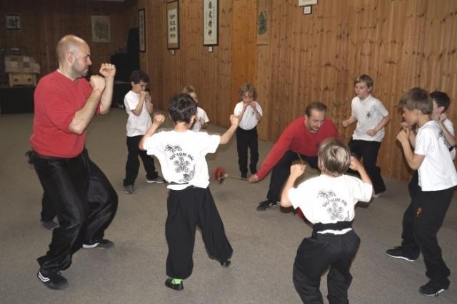 Fitness und Reaktionstraining in der Kung Fu Schule