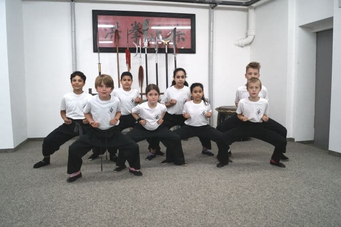 Kung Fu für Kinder und Jugendliche