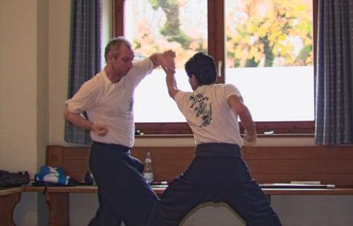 Kung Fu Zweikampf