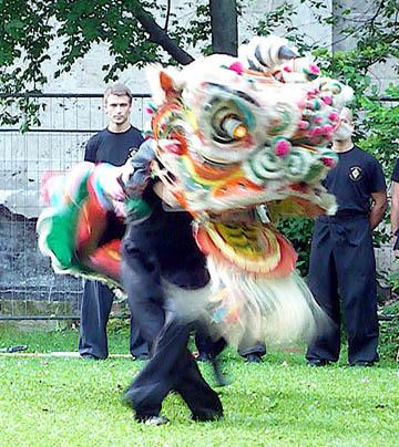 Löwentanz Kung Fu
