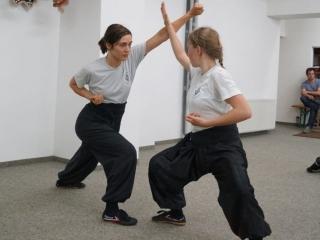 Zweikampf Frauen Kung Fu