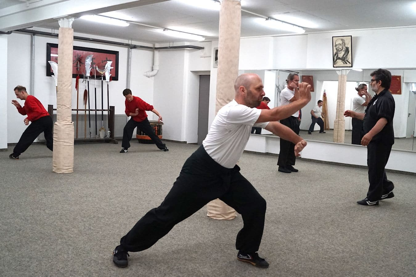 Fortgeschrittenen Kung Fu Training München