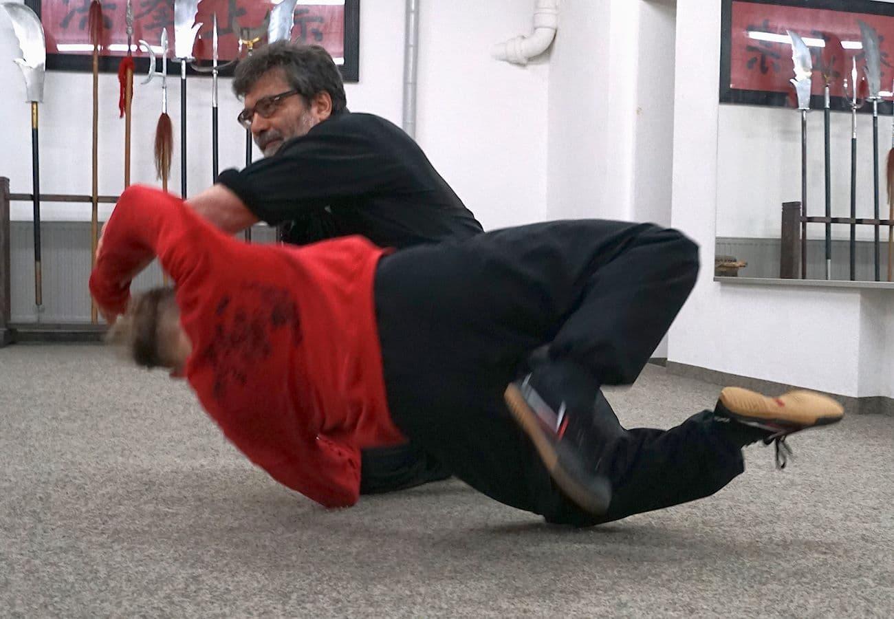 Sifu Alan Baklayan Kung Fu Training